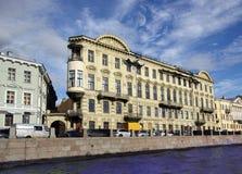 Un monumento storico in San Pietroburgo Immagine Stock