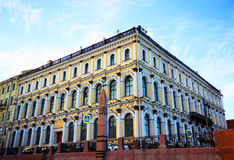 Un monumento storico in San Pietroburgo Fotografia Stock Libera da Diritti