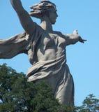 Un monumento a Volgograd fotografia stock