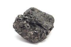 Un morceau de charbon Photographie stock libre de droits