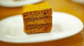 Un morceau de gâteau photo stock
