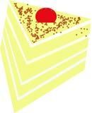 Un morceau de gâteau Photos stock
