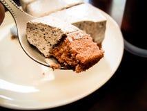 Un morceau de gâteau Photographie stock libre de droits
