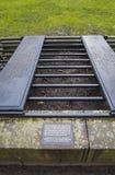 Un Mortsfae dans le cimetière de Greyfriars à Edimbourg Image libre de droits