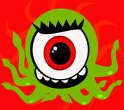 Un mostro dell'occhio Fotografia Stock Libera da Diritti