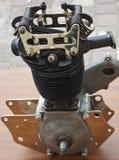 Un moteur de cylindre photographie stock