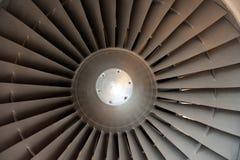 Un motor de jet Imágenes de archivo libres de regalías