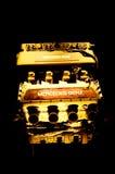 Un motor del arte del aire de hecho por Mercedes Benz Fotos de archivo libres de regalías