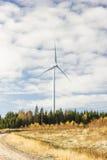 Un moulin à vent électrique Photographie stock