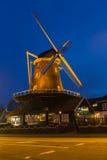 Un moulin à vent construit en 1672 situé à Amstelveen Photographie stock libre de droits