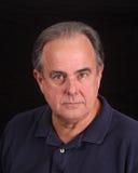 Un más viejo varón en camisa de polo Fotos de archivo