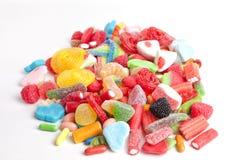 Un mucchio dei dolci fotografie stock