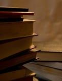 Un mucchio dei libri Immagini Stock