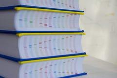 Un mucchio dei libri Fotografia Stock