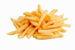 Un mucchio delle patate fritte Immagini Stock Libere da Diritti