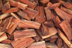 Un mucchio di legno Fotografia Stock
