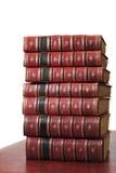 Un mucchio di vecchi libri 1939-1945 Fotografia Stock