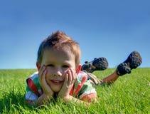 Un muchacho Imagen de archivo