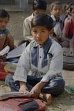 Un muchacho de escuela Fotos de archivo