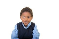 Un muchacho envejecido escuela adorable foto de archivo libre de regalías