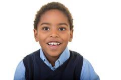 Un muchacho envejecido escuela adorable imagen de archivo libre de regalías