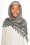 Muchacho musulmán Foto de archivo libre de regalías
