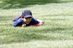 Un muchacho travieso Fotografía de archivo libre de regalías