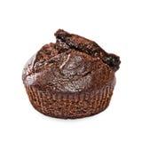 Un muffin al forno fresco dell'americano del cioccolato immagini stock