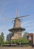 Un mulino a vento a Amsterdam Fotografia Stock Libera da Diritti