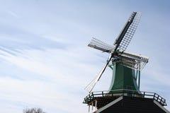 Mulino a vento in Olanda Fotografia Stock Libera da Diritti