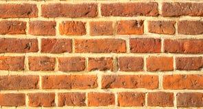 Un mur d'une vieille brique Images stock