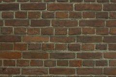 Un mur de briques pour des modèles et des milieux Photographie stock libre de droits