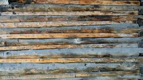 un mur de dalle de conseils Photo libre de droits