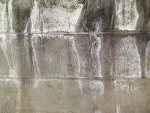 Un mur de pierre de granit, dessus il sont évident les restes du sel dus au temps pluvieux photographie stock libre de droits