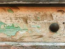 Un mur de vintage et un clou classique Photos libres de droits