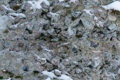 Un mur des roches de granit comme fond photos libres de droits