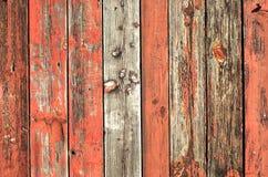 Un mur en bois Photo libre de droits
