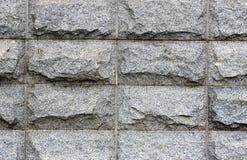 Un mur fait de pierres Photo libre de droits