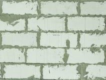 Un muro di mattoni Fotografia Stock