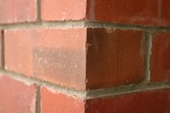 Un muro di mattoni di due dimensioni Fotografia Stock Libera da Diritti