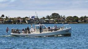 Un museo marítimo de San Diego Bay Tour foto de archivo