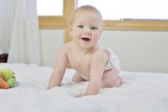 un neonato di 6 mesi Fotografia Stock Libera da Diritti