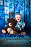 un neonato di 7 mesi Fotografia Stock
