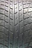 Un neumático del coche Imagenes de archivo