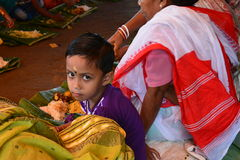 Un niño indio joven Foto de archivo libre de regalías