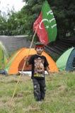 Un niño paquistaní Foto de archivo