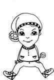 Un niño pequeño Imagen de archivo libre de regalías
