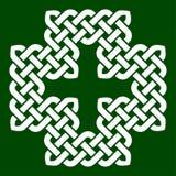 Un noeud croisé de forme, illustration de vecteur Images libres de droits