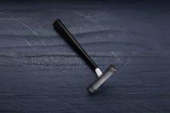 Un noir jetable de lame photo stock