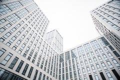 Un nouveau centre d'affaires à Oufa Photo stock